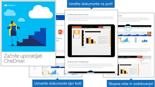 Začnite uporabljati OneDrive – e-knjiga