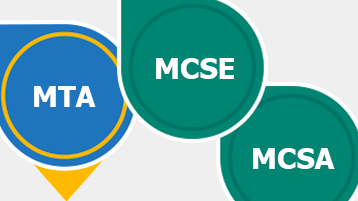 Potrdila za Microsoft Learning: MTA, MCSE, MCSA