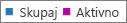 Posnetek zaslona: poročilo o skupinah storitve office 365 – skupno in aktivno število skupin