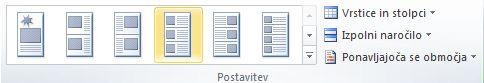 Možnosti postavitve spajanja katalogov