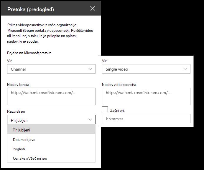 Microsoft Stream – orodja za videoposnetke