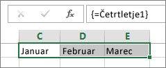 Poimenovana konstanta, ki je uporabljena v formuli polja