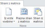 Dodajanje strani v SharePoint Designer 2010