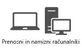 Prenosni in namizni računalniki