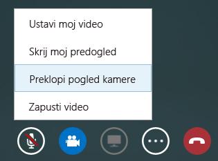 Posnetek zaslona preklapljanja videa