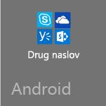 Druge Officeove aplikacije za Android