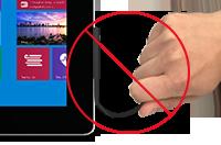 Nepravilno: vlečenje kabla med odstranjevanjem