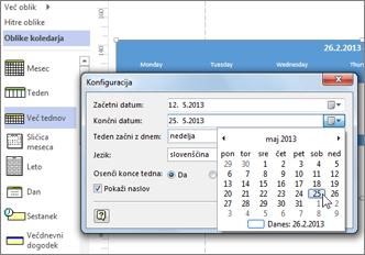 Gradnja koledarja v Visiu