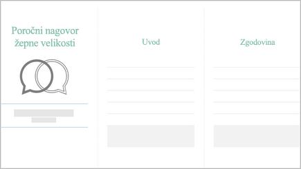 Slika načrtovalnika poročne zdravice