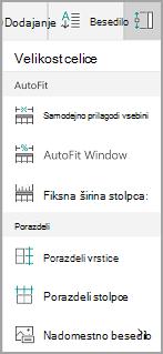 Windows Mobile podoba gumba