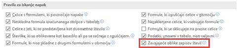 Odprite datoteko > možnosti > formule > pravila za iskanje napak preklapljate zavajajočem številčne oblike možnost.