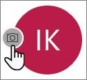 Izberite ikono kamere, da dodate fotografijo