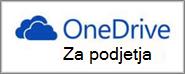 Ikona storitve OneDrive za podjetja