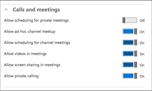 Klici in sestanki
