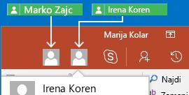 Sprotno sodelovanje v PowerPointu za Android