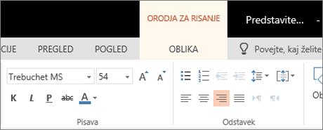 Oblikovanje besedila