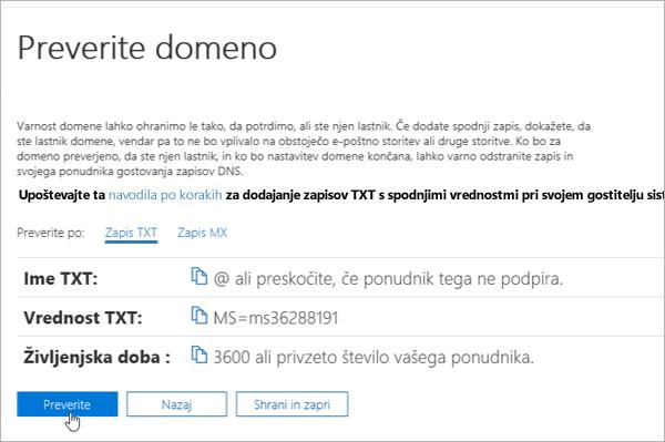 Freenom – preverjanje domene v storitvi Office 365_C3_2017617122635