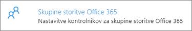 Skupine v storitvi Office 365
