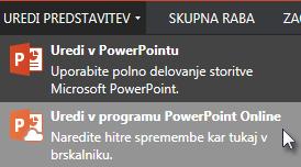 Odpri v programu PowerPoint Online