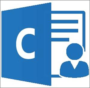 Grafika: ikona za aplikacijo Outlook Customer Manager