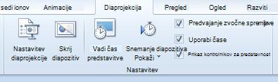Slide Show tab, Set Up group
