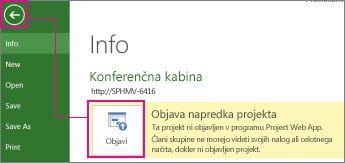Slika »Objavi projekt«