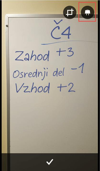 Fotografija tabla za dokument ali predstavitev