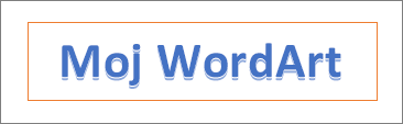 Primeri WordArta