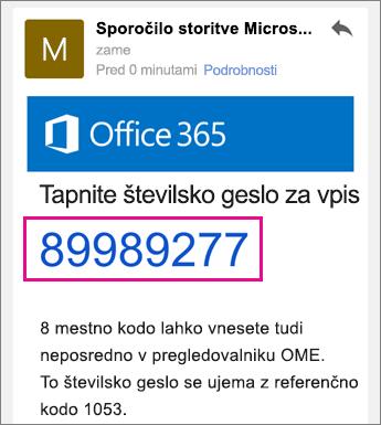 Pregledovalnik za šifrirana sporočila v storitvi Office 365 s storitvijo Gmail 4