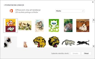 Uzorak slika mačaka na lokaciji Clip Art