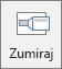 """Prikazuje dugme """"zumiranje"""" na kartici """"Umetanje"""" u programu PowerPoint."""