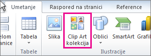 Office 2010 – umetanje Clip Art kolekcije