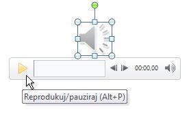 Reprodukcija audio klipa