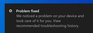 Problem je rešen