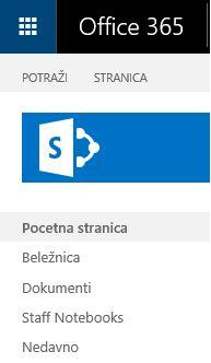 Pronalaženje veze pomoću sistema SharePoint