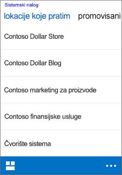 iOS pratite lokacija