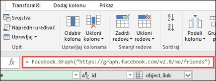 Power Editor uređivača pomoću Facebook formule