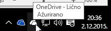 Klijent za sinhronizaciju za OneDrive – lično