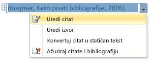 Click the down-arrow and then click Edit Citation