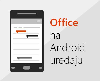 Kliknite da biste podesili Office za Android