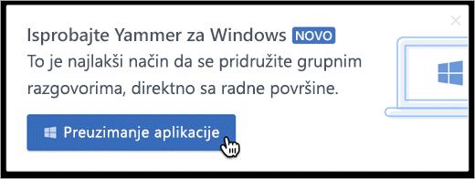 Razmena poruka u okviru proizvoda za Windows