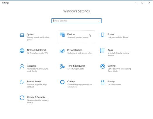 Postavke Windows uređaja