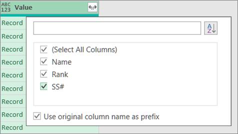 Razvijanje JSON zapisa