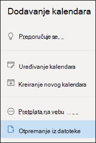 Otpremanje iz datoteke