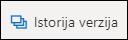 """Dugme """"Istorija verzija"""" na traci u usluzi OneDrive"""