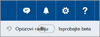 Pridruživanje Outlook.com beta
