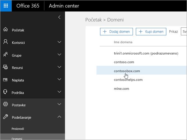 Izaberite domen u Office 365_C3_2017530143622