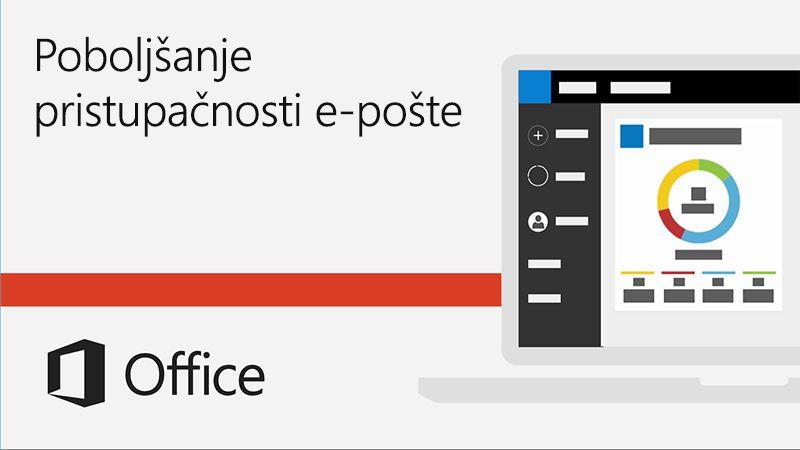 Video o poboljšanju pristupačnosti e-pošte