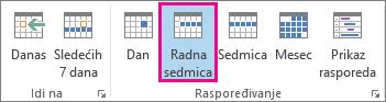 Prikaz radne sedmice