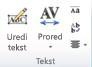 "Grupa ""WordArt tekst"" u programu Publisher 2010"